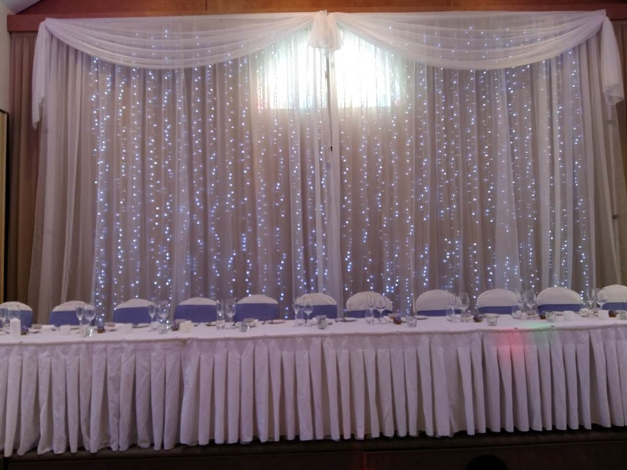 8m x 5m Drop Curtain Lights