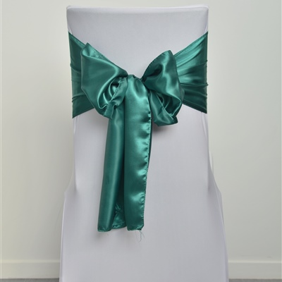 Forest Green Satin Sash