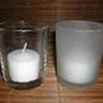 Cylinder Glass Tealight Holder