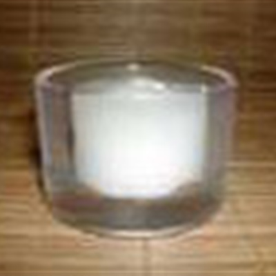 Short Glass Tealight Holder