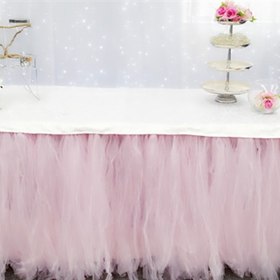 Organza Table Skirt