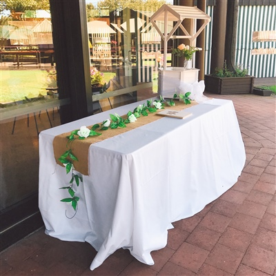 Plain Square Table Cloth