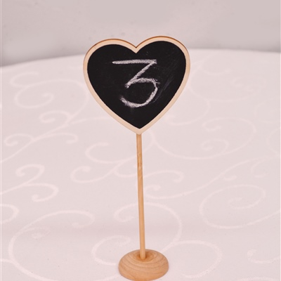 Table Number Holder 2