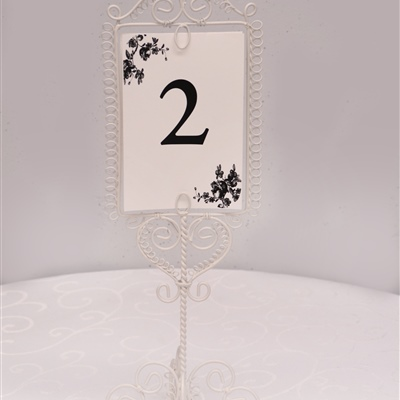 Table Number Holder 3